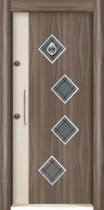 Laminant Steel Doors