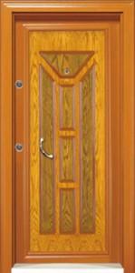 Oak Steel Doors