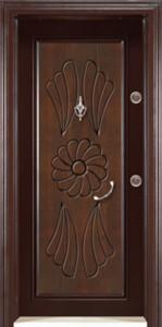 Walnut Steel Doors